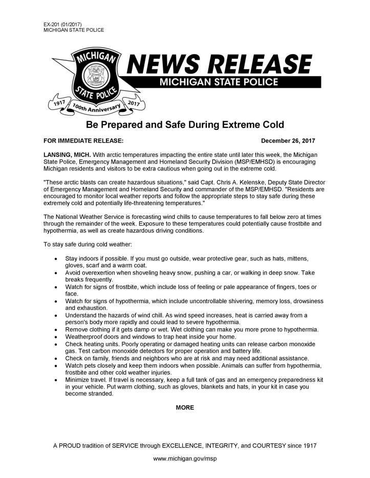 News_Release_Be_Prepared_and_Safe_During_Extreme_Cold_Page_1